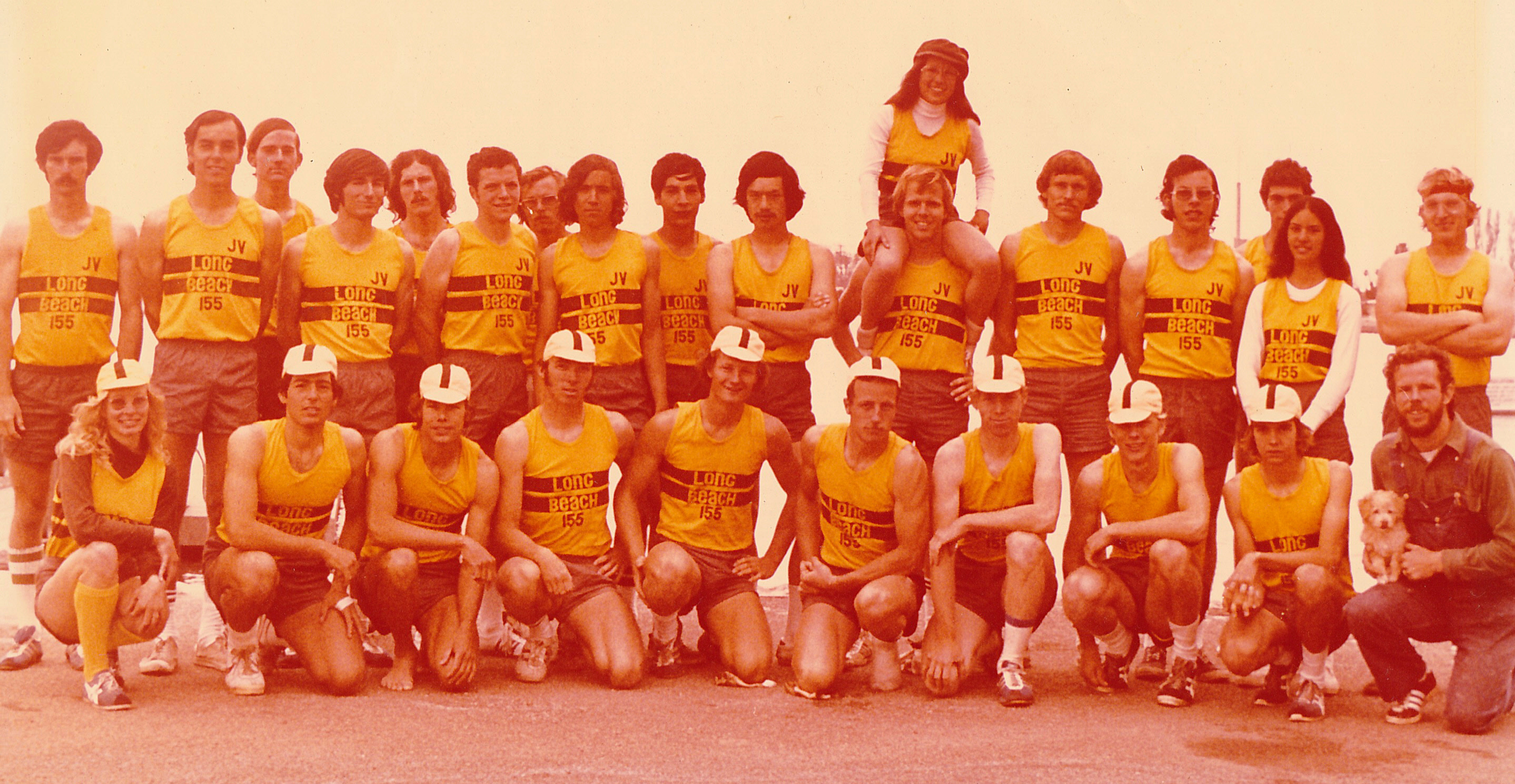 1974 Long Beach Lightweight Rowing Team